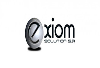 Exiom logo (solar panels)